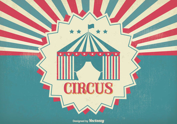 Vintage Circus Poster - Free vector #304889