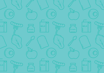School Lunch Background - vector gratuit #304959