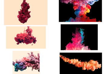 Colored Smoke Vector Effect - Free vector #305149