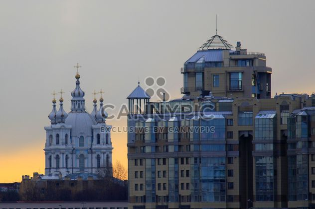 St. Petersburg, Smolny Cathedral - бесплатный image #305409