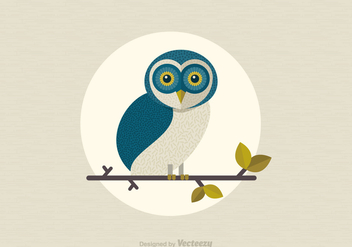 Free Vector Barn Owl - Free vector #305479