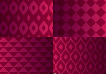Geomateric Purple Background - Free vector #305609