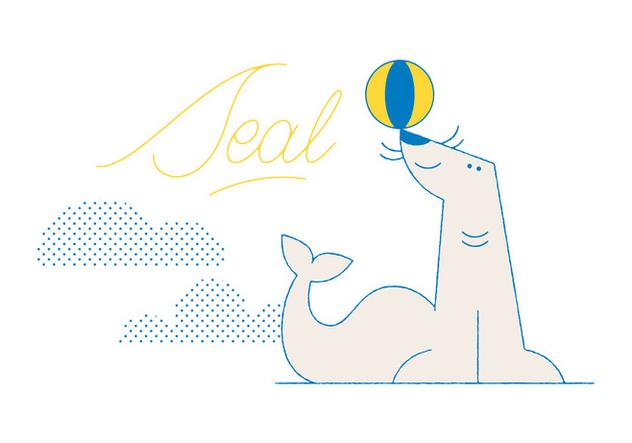Free Seal Vector - vector gratuit #305849
