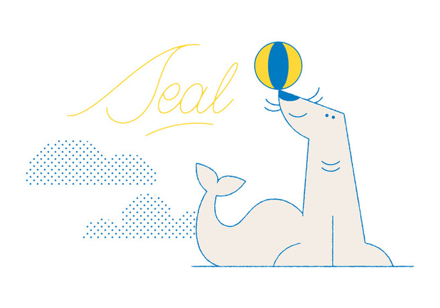 Free Seal Vector - Free vector #305849