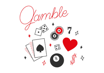Free Gamble Vector - Kostenloses vector #305869