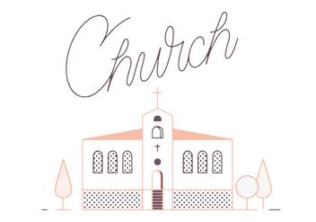 Free Church Vector - vector #305879 gratis