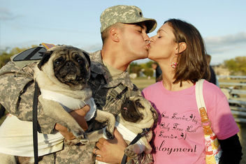 Homecoming at Fort Hood - image gratuit #308599