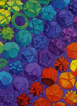 Various Polyhedra - Free image #309729