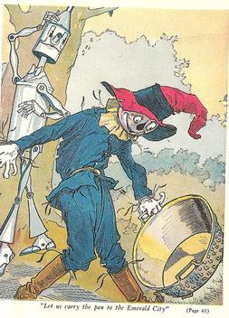 Scare Crow, Tin Man - Free image #310509