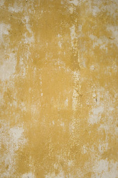 rough yellow and white wall texture - image gratuit #311289