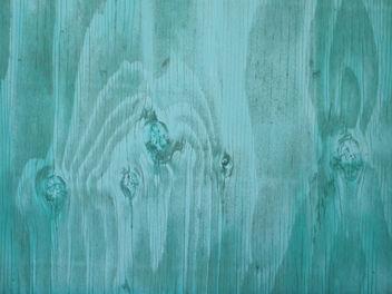 Turquoise wood - Free image #311369