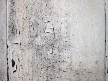 Texture - cracked paint on wood - image gratuit #311399