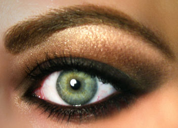 Fall Trend 2010 Grunge Smokey Brown MAC Eyeshadow - бесплатный image #314419