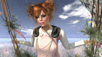 [Pink] Winter - image gratuit #316109