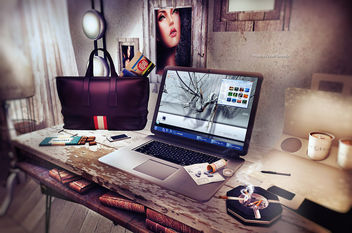 My working space - image gratuit #316709