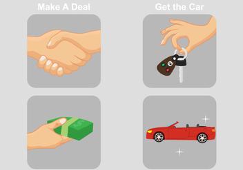 Car Dealership Vectors - Free vector #317579