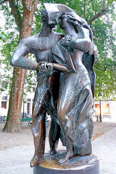 Belgium-5869 - Statue of love - Free image #318379