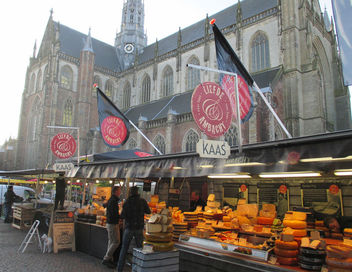 market on the grote markt, haarlem - Free image #318419