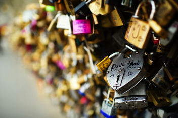Love Lock ~ Paris, France - image #318459 gratis