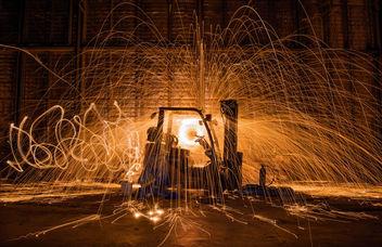 Forklift Explosion - Free image #320279