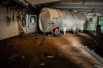 Abandoned Tank - Kostenloses image #320359
