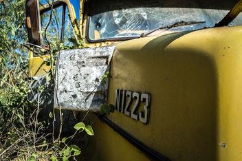 Big Yellow Truck - Free image #320659
