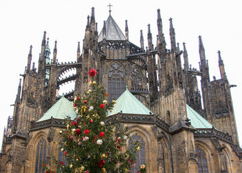 St. Vitus Cathedral at Christmas - image gratuit #321209