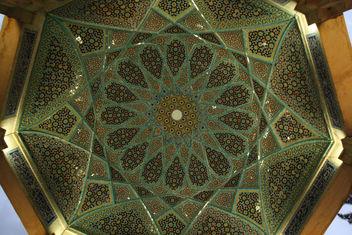 Hafez's tomb - Ceiling - image #321499 gratis