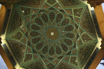 Hafez's tomb - Ceiling - Free image #321499