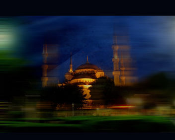 The Blue Mosque - Kostenloses image #323509
