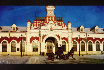 Old railway station in Yekaterinburg - image #323549 gratis