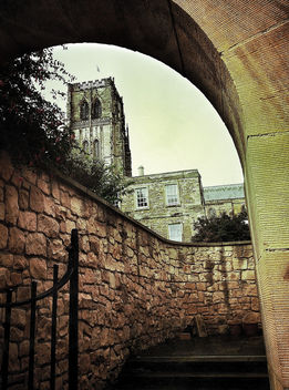 Durham Cathedral Archway #dailyshoot #leshaines123 - Free image #323919