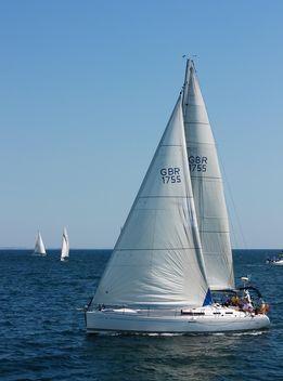 Sailing yacht - Kostenloses image #326529