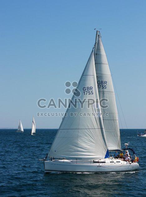 Yacht à voile - image gratuit #326529