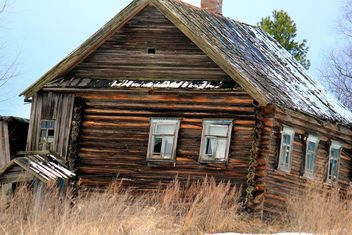 Russian peasant's house - Free image #326539