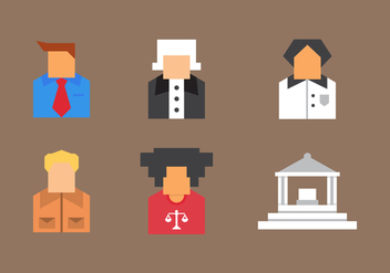 Free Law Office Vector Icons #9 - Free vector #327059