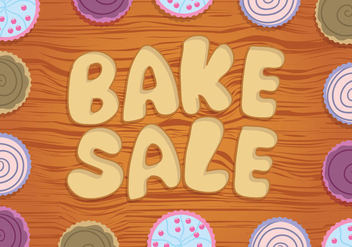 Bake Sale Vector - бесплатный vector #327479
