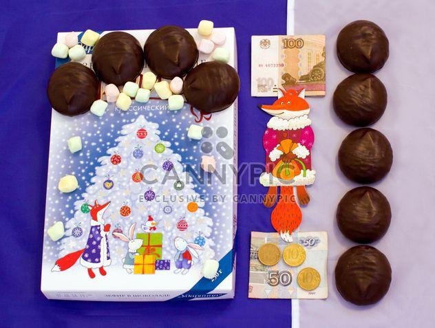 Шоколадный десерт - бесплатный image #327839