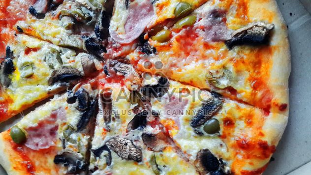 Pizza pieces - Free image #328059