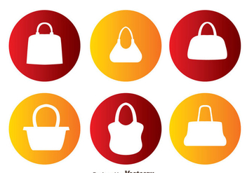 Vector Bag Silhouettes - Free vector #328199