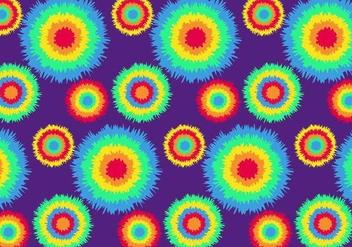 Vector Tie Dye Pattern - vector gratuit #328219