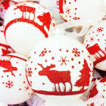 Christmas toy balls - Free image #329199
