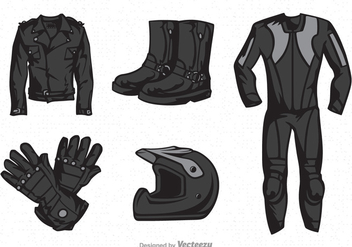 Free Motor Clothes Vector - бесплатный vector #330039