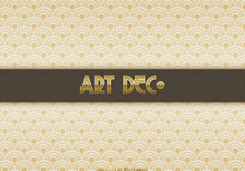Free Art Deco Vector Background - Kostenloses vector #330049