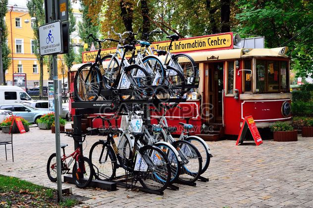 Parking for bicycles - Free image #330279