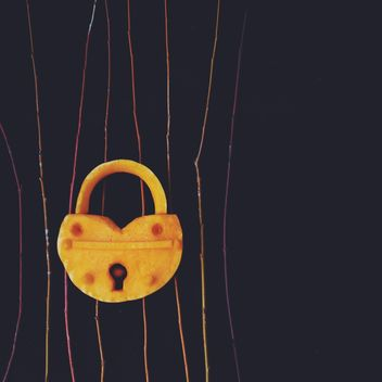 Lock made of pumpkin - image gratuit #330459