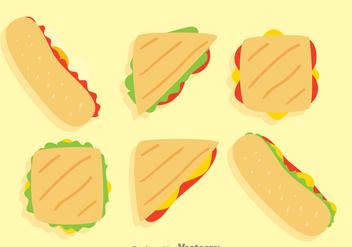 Sandwich Vector - Kostenloses vector #330779