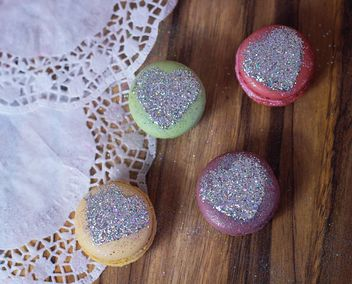 beautiful colorful sweets macaron - бесплатный image #330869