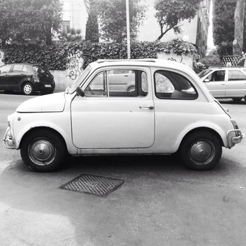 Old Fiat 500 car - Free image #331049
