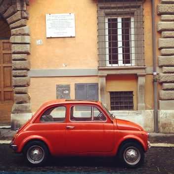 Old Fiat 500 car - Free image #331069